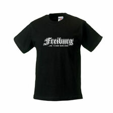 Kinder T-Shirt Freiburg, you´ll never walk alone, Städteshirt (SFU01-30f)