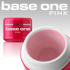 Silcare Base One Pink (Rosa) UV Gel 1 Phasen Aufbaugel Nagelgel