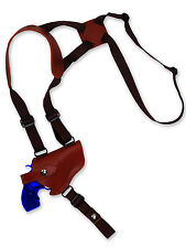"NEW Barsony Burgundy Leather Horizontal Shoulder Holster Charter Arms 2"" Snub"