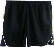 New Orleans Saints NFL Team Apparel Polyester Shorts Team Colors Sizes 3X & 4X