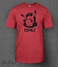 Pokemon T-Shirt. Pikachu 'Chu' Tee MEN'S Many Sizes and Colours Available