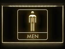 TD055 Men Male Boy Toilet Washroom Restroom Display LED Light Sign