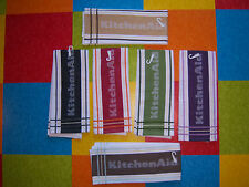 KitchenAid in Large Letters Branded Kitchen Towel 16 inch by 26 inch