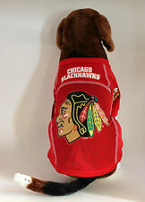 CHICAGO BLACKHAWKS Pet Dog Jersey Mesh Shirt