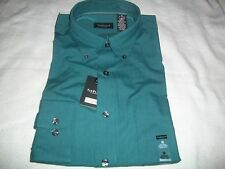 Van Heusen Long Sleeve Wrinkle Free Shirt. Button Down Collar. $48.00 Value New