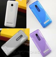 New S line Skidproof Gel skin Case cover For Nokia 206
