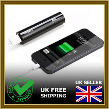1x iPHONE PORTABLE CHARGER Power bank 2200mAh Charger External Battery