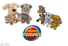 Talking Friends Soft Toy Talking Characters Phone App Tom Ben Ginger Angela Gina