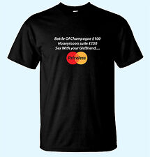 S*x with Your Girlfriend Priceless Mens Funny T-Shirts Mastercard  Sm / XX-Lrg.