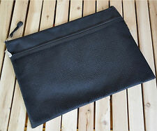 1PCS A4 A5 A6 School Storage Case Zippered File Bag office Document Holder Pouch