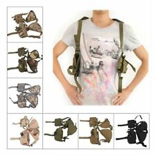 Military  Adjustable Tactical Vertical Shoulder Pistol Gun Holster Pouch New
