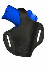 NEW Barsony Black Leather Pancake Holster SIG, Walther Small 380 UltraComp 9mm40