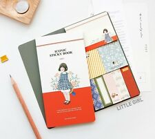 Adhesive Paper Sticky Notes Memo Pad Bookmark Writing_ICONIC Sticky Book v.2