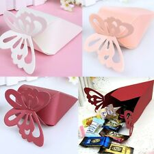 Butterfly Favor Gift Candy Boxes Cake Style for Wedding Party Baby Shower 50 Pcs