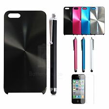 Shine Hard Case Cover W/Screen Protector Stylus Pen For Apple iPhone 5 5G 5S