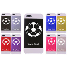 Engraved Adidas Soccer Ball for iPhone 5/5s Aluminum White Case for iPhone 5/5s