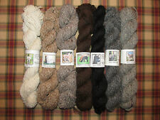 Yummy All Natural Alpaca Yarn - 2.5 oz. Light Worsted Weight Skeins