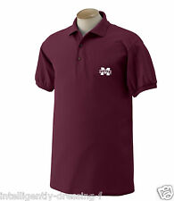 Mississippi State University  Polo Shirt (in Multiple Colors)