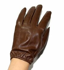 New Police Tactical Gloves, 100% Genuine leather Men's Driving Gloves CA