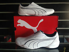 PUMA REDON MOVE SLIP ON FOR MEN'S, WHITE, US SHOE SIZES, NEW WITH BOX