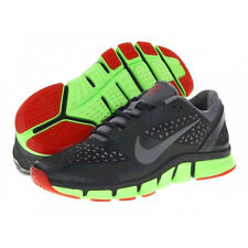 $110 NEW MENS NIKE FREE TRAINER 7.0 GREY/GREEN/RED RUNNING TRAINING SHOES SIZE