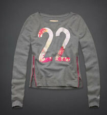 NEW Hollister By Abercrombie Womens Sweatshirt, Medium