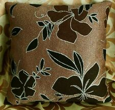 """Cushion Cover""""Nice Floral """"Thick Linned Cotton Blend """"Custom Made"""" YF077-5"""