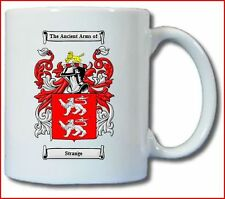 STRANGE COAT OF ARMS COFFEE MUG