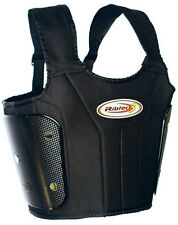 RIBTECT3 RIB VEST w/POLYCARBONATE PANELS -GO KART RACING SAFETY GEAR YOUTH/ADULT