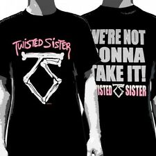 OFFICIAL Twisted Sister - We'Re Not Gonna Take It! T-shirt NEW Licensed Band Mer