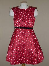 Girls DISORDERLY KIDS Red Black Party Dress PLUS Size 14.5-16.5 18 1/2 Holiday
