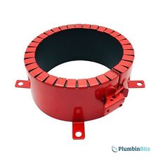 """Astroflame Intumescent 4 Hour Fire Rated Steel Pipe Collar 110mm 4"""" AFPC110/4P"""