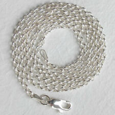 Italian Solid Sterling Silver 2.5mm Belcher Chain Necklace - Lengths 16 to 22""""