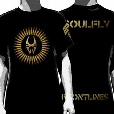 OFFICIAL Soulfly - Frontlines T-shirt NEW Licensed Band Merch ALL SIZES