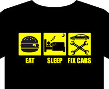 T Shirt mens mechanic car diesel trolley spanners torque wrench oil battery gift
