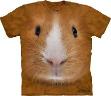Big Face Guinea Pig T-Shirt by The Mountain. Cute Giant Head Tee S-3XL NEW
