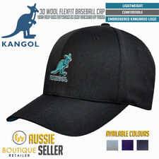 KANGOL 3D Wool Flexfit Baseball Cap 5128BC Wool Blend New Mens Hat Snapback