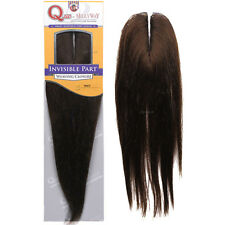 ShakeNGo Que 100% Synthetic Hair Yaky Invisible Part Closure Weave Extension 10""
