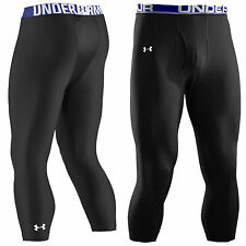 UNDER ARMOUR MENS EVO VENT 3/4 COMPRESSION LEGGINGS - NEW RUNNING CYCLING GOLF