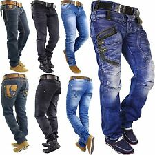 RedBridge by Cipo & Baxx KOSMO LUPO Herren One Star Jeans Hose Used Kay Denim G