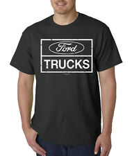 Ford Trucks Build Ford Tough Distressed Mustang Car SUV T-Shirt S-5XL