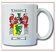 WILKIN COAT OF ARMS COFFEE MUG