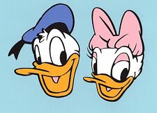 "Donald Duck & Daisy Duck Die Cut Set - 4"", 5"" or 6"" (1 Donald & 1 Daisy)"