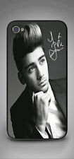 ONE DIRECTION 1D ZAYN MALIK AUTOGRAPH IPHONE 4/4S 5/5S PHONE CASE BLACK OR WHITE