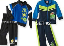 * NWT NEW BOYS 2PC Angry BirdsTricot Jacket WINTER OUTFIT SET SZ 2T 3T