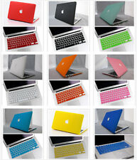 2in1 10Color Rubberized Hard Case For Macbook Air 13/13.3inch A1369 (No Retina)