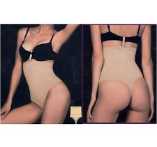 Seamless Body Shaper Thong Waist Slimming Cincher Shapewear Tummy Control Girdle