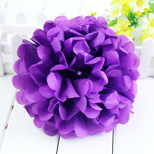 "10"" Tissue Paper Pom Poms Flower Balls Wedding Party Home Birthday  Décor"