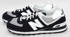 New Balance 574 Navy/Grey/White ML574BGS Sz 9.5-11.5 Running Shoes