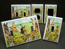 HORSE & SUNFLOWERS COUNTRY HOME DECOR LIGHT SWITCH OR OUTLET COVER V275